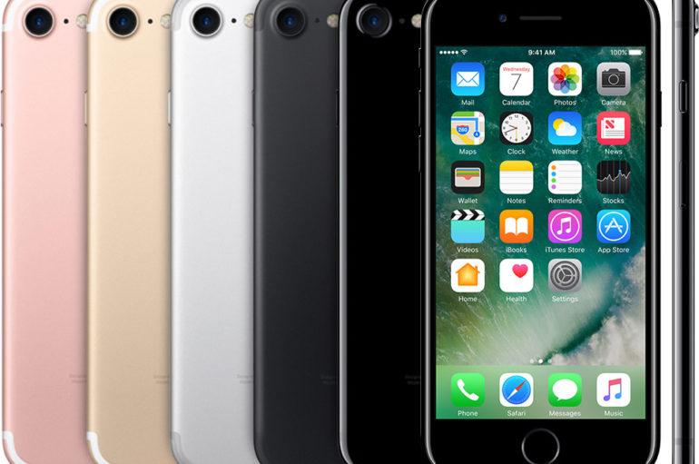 Les différents modèles de iPhone 7